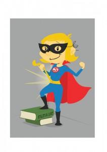 superhelt – ikke billede